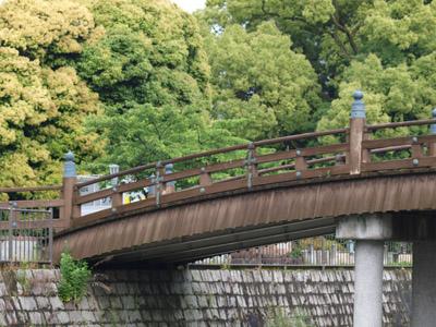 放生川から見たたいこ橋