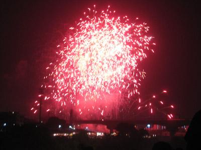 猪名川の花火