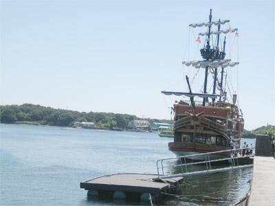 英虞湾めぐりの遊覧船