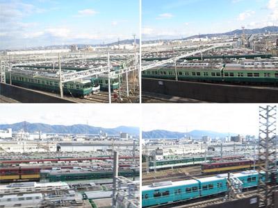 京阪電車寝屋川車庫