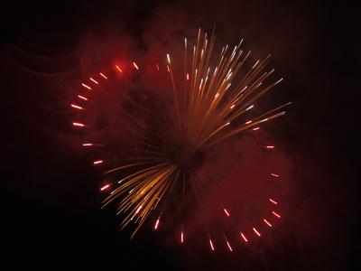 宇治の花火