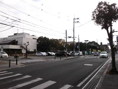 市役所北の交差点