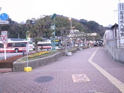 駅のところの踏切