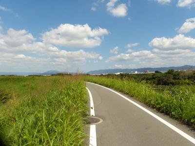 木津川サイクリングロード
