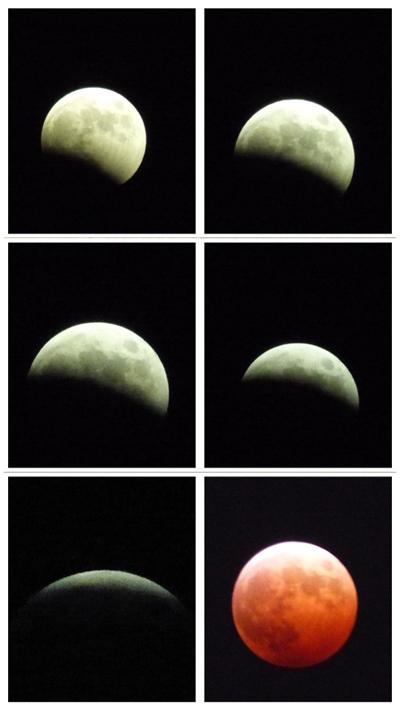 皆既月食2014